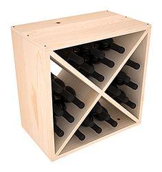 24 Bottle Wine Cube Storage Rack Kit in Ponderosa Pine. 13 Stains to Choose From! Wine Bottle Rack, Wine Glass Rack, Bottle Wall, Cube Storage, Storage Rack, Yarn Storage, Cabinet Storage, Wine Racks America, Stackable Wine Racks
