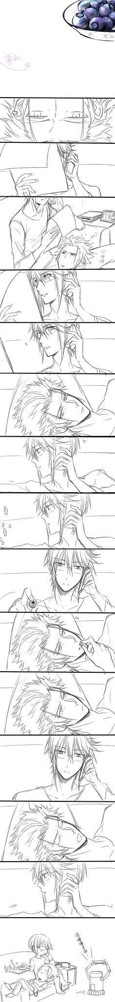 Mikoto x Munakata ............I need to stop shipping male characters all the time. <--- no my child continue to do that xD
