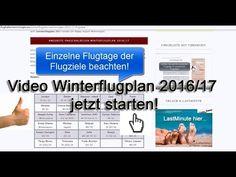 Winterflugplan 2016 -2017 Flughafen Memmingen Flugziele