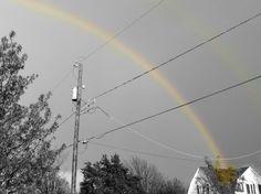 Double rainbow. <3 By Destiny Richards.