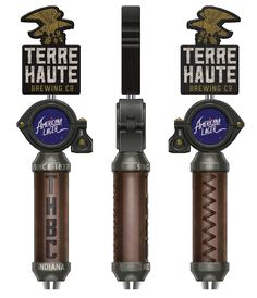 Terre Haute Brewing of Indiana (THBC) – Old World Brewery inspired Tap Handle – Design Island Crafts, New Growth, Brewing Co, Marketing And Advertising, Old World, Craft Beer, Brewery, Indiana, Handle