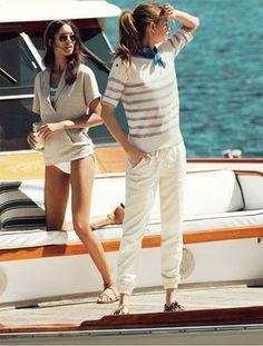Coastal Style: Boating Chic #coastalstyleclothing