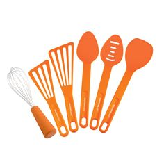 Rachael Ray 6-piece Orange Tool Set | Overstock.com Shopping - The Best Deals on Preparation Tools
