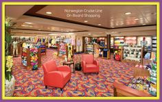 NCL-Norwegian Jade    SHOPPING! Need a new bathing suit? How about a surprise gift for your sweetheart? The Galleria Boutiques is a department store in a Ralph Lauren theme offering a wide selection of brand name and specialty goodies.