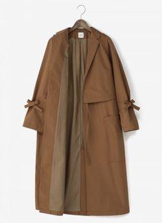 ELIN drawstring coat - #coat #Drawstring #ELIN