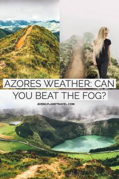 THE AZORES ISLANDS OFF THE COAST OF PORTUGAL are known for having crazy weather. The weather forecast changes rapidly, and without knowing the best time to visit Azores your trip could be ruined! #AVENLYLANETRAVEL #AVENLYLANEAZORES #AVENLYLANE #azores #azoresislands #islands #europe #portugaltravel #travelinspiration