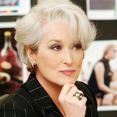meryl streep hairstyle in the devil wears prada - Google Search