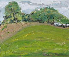 September Green by Francois Fournier Oil ~ 10 x 12