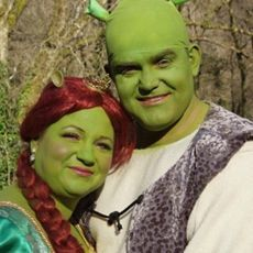Shrek couples costume