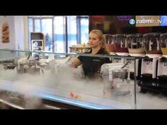 Sorvete de nitrogênio: uma delícia a -196 graus celsius
