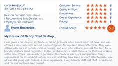 Customer reviews her Jeep Cherokee purchasing experience!