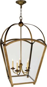 Foyer light in Bronze