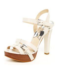 Vince Camuto Kanara Women Shoes Black Perforated Heels Sz 8 M