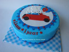 Cakes and Cookies by Home mAade: Nijntje taart voor Liam / Mifty cake