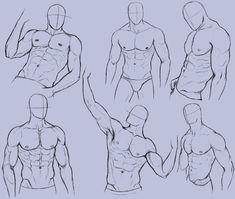 Man Anatomy Practice 2 by KingMaria on DeviantArt Human Anatomy Drawing, Drawing Body Poses, Body Reference Drawing, Art Reference Poses, How To Draw Anatomy, Anatomy Reference, Drawing Drawing, Human Body Anatomy, Hand Reference