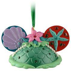 Ear hat Ariel ornament. WANT!!!