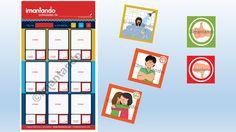 Tablero de habitos y rutinas para niños de 4-6 años, el objetivo de los tableros es que los niños ganen independencia mediante la adquisicion de hábitos y rutinas