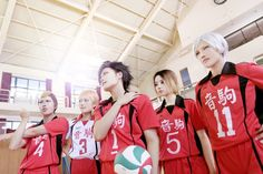 Hwangja(Hwangja) Teturo Kuroo, Lucia(Lucia) Kenma Kozume, YeoWoon(YeoWoon) Morisuke Yaku, MD(M.D) Taketora Yamamoto Cosplay Photo - Cure WorldCosplay