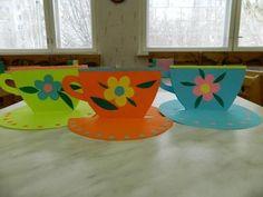 Своими руками подарок для бабушки— чашечка на блюдце / поделки к 8 марта / поделки из бумаги / детские поделки
