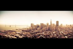 The Bay Area. California. Absolutely love this picture