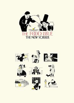 The New Yorker Food Issue on Behance