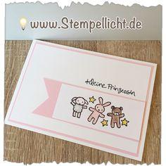 Moon Baby Stampin'Up Stempelset total schön für Babykarten