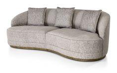 Prestige sofa designed by Massimiliano Raggi architetto for SICIS Contemporary Interior Design, Luxury Interior Design, Contemporary Bedroom, Interior Design Living Room, Living Room Designs, Furniture Layout, Sofa Furniture, Luxury Furniture, Furniture Design