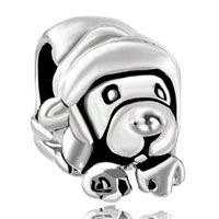 Cute Puppy Dog Fit All Brands Silver Plated Beads Charms Bracelets Pinterest