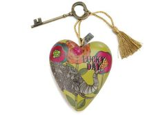 """Art Heart """" Lucky Day"""" www.thecrystalranch.ca"""