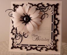 Pink & Black Bday by jasonw1 - Cards and Paper Crafts at Splitcoaststampers