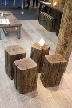 Iu0027m designing a tree stump stool. December project. & Yes these amazing stools donu0027t exactly look comfortable but I ... islam-shia.org