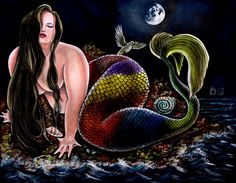 The Curvy Fashionista | Plus Size Mermaids by D. Jose Maldonado