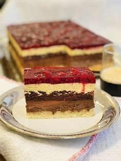 Romanian Desserts, Homemade Sweets, Sweet Cakes, Vanilla Cake, Caramel, Sweet Treats, Cheesecake, Good Food, Chocolate