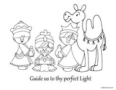 Drie wijzen Christmas Paper Crafts, Christmas Nativity, Christmas Projects, Christmas Art, Christmas Windows, Nativity Clipart, Bible School Crafts, Bible Coloring Pages, Three Wise Men
