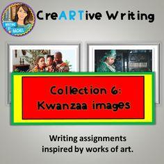 Creative Writing with Winter Holiday Prompts  Christmas  Kwanzaa     Woo  Jr