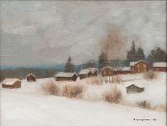 REIJO KIVIJÄRVI, öljy kankaalle - Hiljaiseloa, signeerattu ja päivätty -89. - Bukowskis Finland, Fine Art, Painting, Design, Painting Art, Paintings, Visual Arts, Painted Canvas