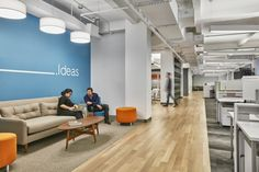 Criteo office by HGA Architects and Engineers, New York City » Retail Design Blog