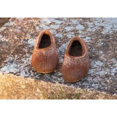 Felted Shoes Slippers Boiled Wool Women House Shoes One-of-a-Kind... (€58) ❤ liked on Polyvore featuring shoes, slippers, black and women's shoes