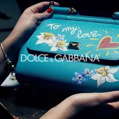 #DGWomen don't miss out on your chance to get your personalised #DGSicilyBag! Look out for the boutiques closest to you that feature our artisan painters. #lamoreébellezza  via DOLCE & GABBANA OFFICIAL INSTAGRAM - Celebrity  Fashion  Haute Couture  Advertising  Culture  Beauty  Editorial Photography  Magazine Covers  Supermodels  Runway Models