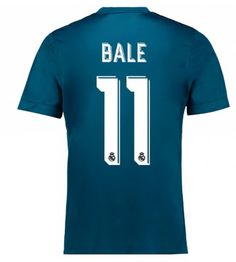 Billiga Real Madrid Gareth Bale 11 Tredje Tröja 17-18 Kortärmad Neymar, Messi, Real Madrid Gareth Bale, Bale 11, Bale Real, Manchester United, Ronaldo, Soccer, Third