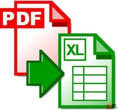 come convertire documenti pdf in excel xls xlsx chimerarevo