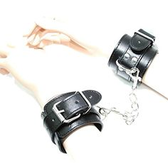 Arunta® Robuste Handschellen mit Karabiner Handfesseln Bondage Sex Fessel