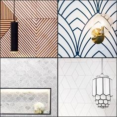 Our favourite Deco wall features from this series! Which do you like best? #9theblock #artdeco #deco http://ift.tt/2ds0Pwj