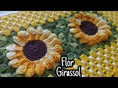 Cleia Porto's media content and analytics Easy Crochet Stitches, Crochet Borders, Crochet Squares, Crochet Granny, Irish Crochet, Crochet Tablecloth, Crochet Doilies, Crochet Flowers, Love Crochet
