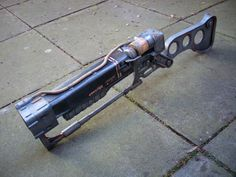 Fallout AER9 Laser Rifle Replica by Chanced1 on Etsy, £150.00