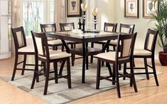 Looking for Furniture America Dalcroze Modern Faux Marble Top Pub Dining Set, Dark Cherry ? Check out our picks for the Furniture America Dalcroze Modern Faux Marble Top Pub Dining Set, Dark Cherry from the popular stores - all in one. Pub Dining Set, Pub Table Sets, Table And Chair Sets, Dining Room Sets, Pub Set, Pub Tables, Dining Area, Side Chairs, Dining Chairs