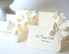 Hochzeit Luxe Escort Karten von LillyThings auf Etsy