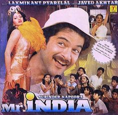 We all remember Mr India, the invincible, invisible hero of the 80's! The superhero boom of the 80s was said to be due in part to the success of this charming crowd-pleaser, in which Anil Kapoor used the power of invisibility to defend us Mogambo who I am sure khush bilkul nahi hua! A houseful of children, a South Indian Lois Lane and a Jeeves clone Calender to boot completed his merry brigade!