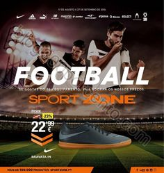 Novo Folheto SPORT ZONE Especial Futebol promoções de 17 agosto a 27 setembro - http://parapoupar.com/novo-folheto-sport-zone-especial-futebol-promocoes-de-17-agosto-a-27-setembro/