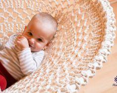 Mandala Crochet Swing hecho a mano reciclado Crochet por retextil